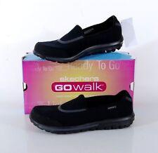 NIB Skechers GOwalk Glitz Slip On Walking Shoe Women's 10 MED Black NEW 13498