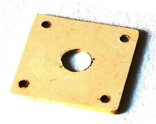Guitarslinger Parts-aged LP Jack Plate-Bone White-fits to Les Paul ®