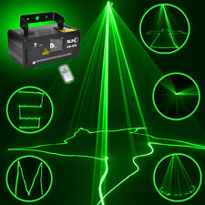 SUNY Remote DMX 50mW GREEN Laser Stage Lighting Scanner DJ Party Ball Light Show