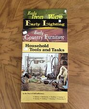 4 Elmer Smith Books: Self-Sufficiency, Lighting, Iron Ware, Country Furniture