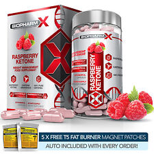 PURE RASPBERRY KETONE DIET PILLS  - MAX STRENGTH SLIMMING / WEIGHT LOSS PILLS