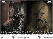 hot toys scarecrow and demon batman 1/6
