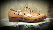 TRICKERS: Bourton Shoes (Style 5633/4) Acorn Antique Size 9 NOW REDUCED!!!