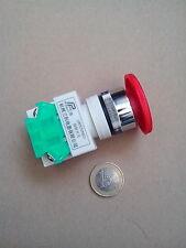 Notaus Schalter, 1 Schließer, 1 Öffner, Neu 22mm zB für Tableau o. Schaltschrank