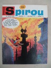 Journal SPIROU n° 1528 (52 pages)  du 27 juillet 1967  - COMPLET sans supplément