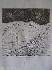 TREMOIS PIERRE YVES GRAVURE 1971 SIGNÉE À L'ENCRE NUM/VL HANDSIGNED NUMB ETCHING