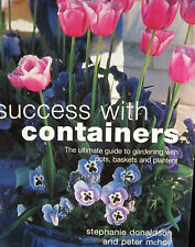 SUCCESS WITH CONTAINERS THEMED POTS BASKETS PLANTERS PAPERBACK GUIDE BOOK