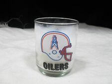 Rare Collectible NFL Glass ~ Houston Oilers Glass