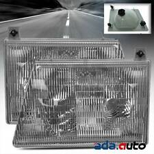 1997-2007 Ford Econoline Van E150 E250 E350 Headlights Replacement Lamps Pair
