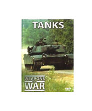 Tanks Weapons Of War DVD BOOKLET FROM IMP BRAND NEW FREE SHIP TRACK CONT US