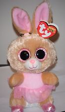 "Ty Beanie Boos - TWINKLE TOES the 6"" Ballerina Bunny Rabbit ~ 2016 NEW ~ MINT"