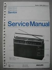 Philips 90 RL250 Kofferradio Service Manual