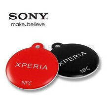 2 ETIQUETAS NFC SMARTTAGS SMART TAGS SONY XPERIA GALAXY S3 MINI i8190 S2 i9100