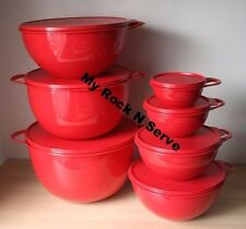 Tupperware Set 7  Thatsa Mixing Bowl  59,42,32,16, 12,6, 2.5 Cup New