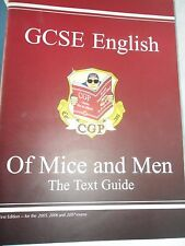 GCSE ENGLISH TEXT GUIDE - OF MICE AND MEN BY JOHN STEINBECK      PRISTINE