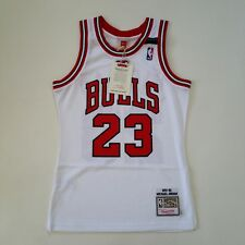 100% Authentic Michael Jordan Mitchell Ness 91 92 The Shrug Bulls Jersey S 36