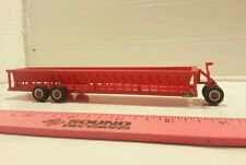1/64 ertl custom h&s bunk cattle feeder wagon farm toy standi toys plastic nice!