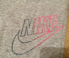 New Girls Nike N40 Cuffed Tracksuit Bottoms Gym Running S 8-10 YRS RRP£37.99
