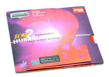 DHS Hurricane2 Table Tennis Rubber With Sponge, Pips-in, Wang LiQin, New