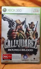 Call of Juarez - Bound in Blood - Xbox 360 VGC Complete Includes Manual