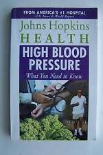 High Blood Pressure: What You Need to Know Johns Hopkins Health