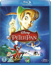 PETER PAN [Blu-ray Disc] Classic Disney Animated Movie OOP in the US! Tinkerbell