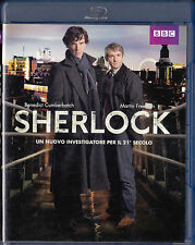 2 Blu-Ray: Sherlock Stagione 1 + The Social Network (sigillato)