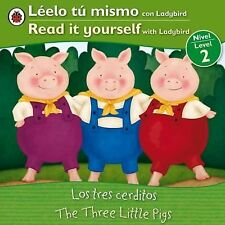 The Three Little Pigs Los tres cerditos: Bilingual Fairy Tales (Level -ExLibrary