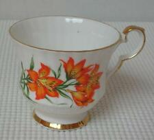 REPLACEMENT TEA CUP (s) KS Royal Windsor PRAIRIE LILY China Saskatchewan Emblem