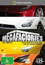 National Geographic: Megafactories - Full Throttle DVD NEW