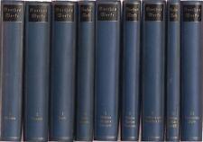 Goethes Werke - Kleine Ausgabe (9 von 10 Bänden)   um 1930