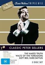Classic Matinee Triple Bill - Classic Peter Sellers (DVD, 2010, 3-Disc Set)
