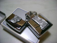 ZIPPO ACCENDINO LIGHTER FEUERZEUG INDIAN CIGAR MODELLO B 139 BEARSKIN NEW NUOVO