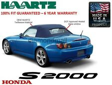 Honda S2000 2002-2008 Convertible Soft Top & Heated Glass Window Blue Twillweave