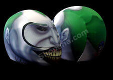 Joker Motorcycle Helmet Cover AND Visor Sticker Decal Batman Clown Street  Bike
