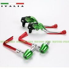 Italian Style Brake clutch levers+proguards lever-guards combines anodized alloy