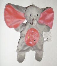 Nicotoy SIMBA TOYS ELEFANT mit Sterne rosa grau Schmusetuch Schnuffeltuch Neu ❤️