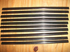 10 x A4 SLIDE BINDERS / SPINE BARS - BLACK - 5MM CAPACITY - ONLY £2.50 INC P&P