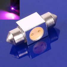 New Purple 31mm 1W 12V Car LED Interior Festoon Dome Light Bulb Lamp