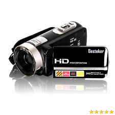 Besteker Portable HD 1080P IR Night Vision 24.0 MP Digital Camera Camcorder