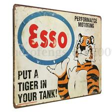 Tiger Vintage Retro Metal Tin Sign Poster Plaque Bar Pub Club Wall Home Decor