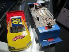 1/24 Scale Slot Car JK RTR Cheetah 21 W/ Nascar Body & Interior