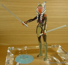 STAR Wars Clone Ahsoka Tano ANIMATA FIGURA CARTOON LOOSE NUOVO!