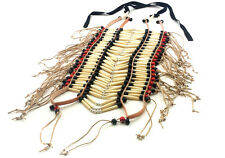 Handmade Large Native American Style Buffalo Bone Hairpipe Tribal Breastplate