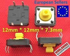 Tactile Push Button Tact Micro Switch Push Button 4-Pin - 12X12X7.3mm - V15