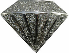 Retro Belt Buckle- Diamond