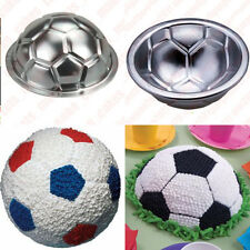 SOCCER BALL CAKE PAN Football Mould Mold Tin Sugarcraft Decorating Icing DIY