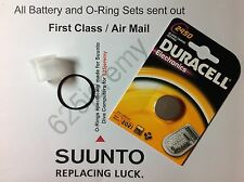 DURACELL BATTERIA & O-RING Kit for Suunto Vyper, Vytec, Gekko, ZOOP, Helo2