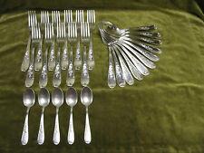 Ménagère 27pces métal argenté rocaille EB (27pc cutlery set) nev