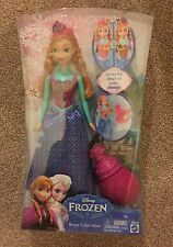 Disney Frozen Anna Royal Colour Change Anna Doll New